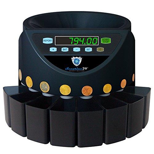Contamonete Euro Securina24 (Nero - Blacklabel - BBB-LED)