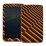 Samsung Galaxy Tab 3 7.0 7.0 Case Skin Sticker aus Vinyl-Folie Aufkleber Dachziegel Ziegel Look Muster