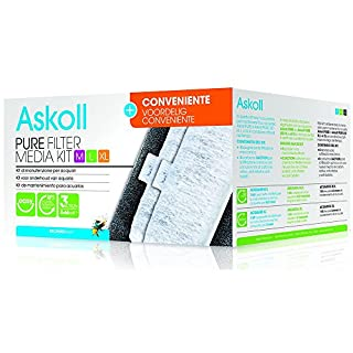 Askoll Pure Filter Media Kit M, L, XL and convenient 3Action Cartridges by Askoll