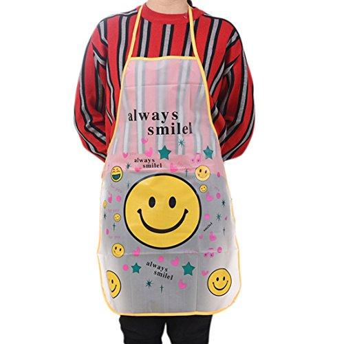 Haushälterin Schürze (Wasserdicht Frauen apron-saihui Haushälterin/Küche/Restaurant/Kochen Server Cute Cartoon Lätzchen Schürze a)