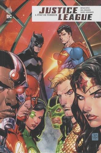 Justice League Rebirth, Tome 2 : Etat de terreur par Daniel Henriques