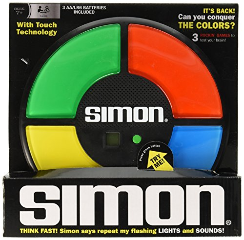 1897 Farbe (Simon The Electronic Memory Retro Game)