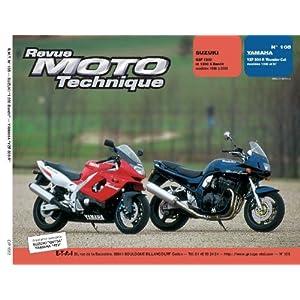 Revue Moto Technique, n° 105 : Suzuki GSF 1200 et 1200 S Bandit, Modeles 1996 à 2000 / Yamaha YZF 600 R Thunder Cat, Modeles 1996 et 97