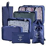I sacchetti di immagazzinaggio di Joyoldelf hanno grande capacitš€, la massima conservazione dei vostri bagagli e la riduzione dei guasti del bagaglio. Questi sacchetti possono classificare i vostri vestiti e scarpe, per assicurarli puliti e ...