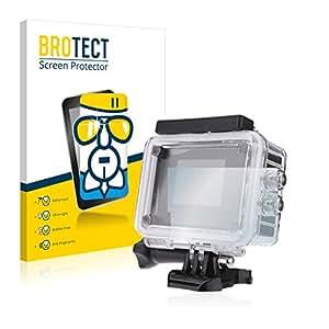 BROTECT AirGlass Protection Verre Flexible pour SJCAM SJ4000+ Action Cam Affichage Film Vitre Protection Ecran Transparence - Extra Résistant, Ultra-Léger, Clair