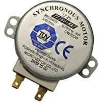 Zkee Shop TYJ508A7 Horno microondas TYJ50-8A7 4W 5/6 RPM 11mm Motor sincrónico Spindle Turntable Motor