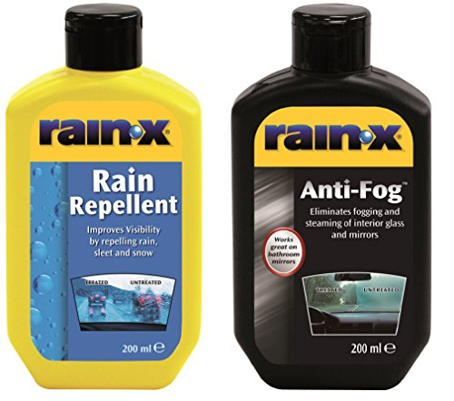 Rain-X 81299400 Rain Repellent and Anti-Fog Pack, Set of 2