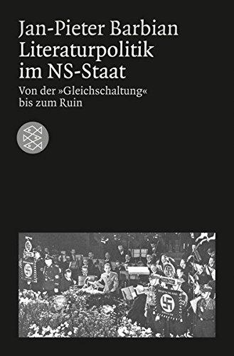 Literaturpolitik im NS-Staat: Von der