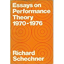 Essays on Performance Theory, 1970-1976