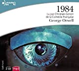 1984 [edition francaise] Audiobook PACK [Book + 2 MP3 CDs] (French Edition)