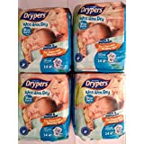 New Born Baby Diapers, 14s Pack (0-5 Kgs) Combo Pack Of 4