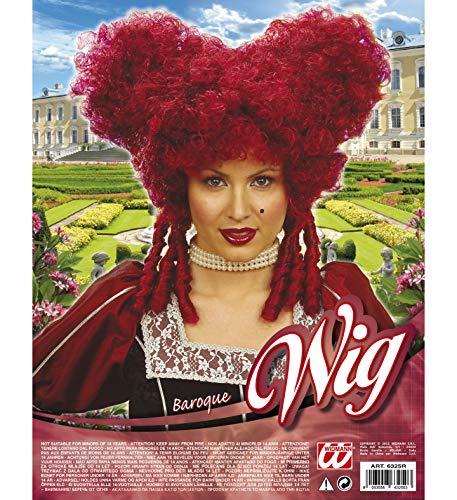 SeeMeInThat Queen Hearts Perücke Barock Alice Märchen Duchess Royal Hair Halloween Hen Ussly Schwestern Pantomime Halloween TV Film Charakter