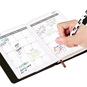 vemmore notizbuch liniert notebook mit 2018 2019 kalender. Black Bedroom Furniture Sets. Home Design Ideas