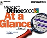 Microsoft Office 2000 at a Glance Library