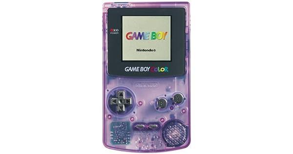 Nintendo Gameboy Color Light Purple Console Nintendo Game