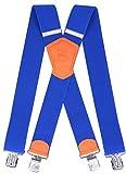 Ranger Hosenträger X Form robust Dx50 (intensives Blau 2)