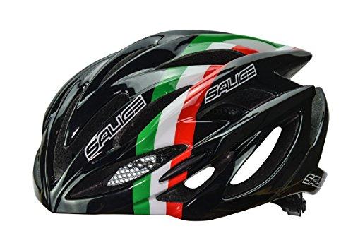 Salice Ghibli Casco Bicicleta, Nero, 52-58