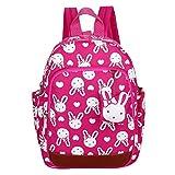 GWELL Süß Bunny Bär Babyrucksack Kindergartenrucksack Kleinkind Kinder Rucksack Mädchen Jungen Backpack Schultasche