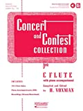 Concert and Contest Collection for C Flute: Solo Book with Online Media (Rubank Educational Library)