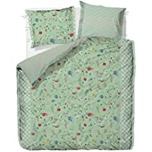 Pip Studio Hummingbirds Pillow case - Green - 60x70