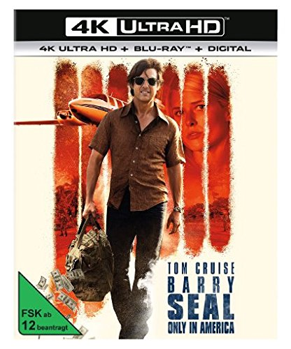 Barry Seal: Only in America - Ultra HD Blu-ray [4k + Blu-ray Disc]