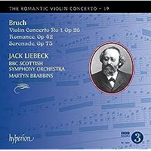 Max Bruch : uvres pour violon. Liebeck, Brabbins.
