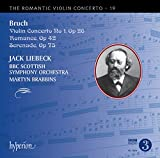 Bruch:Violin Concerto no.1 [Jack Liebeck; BBC Scottish Symphony Orchestra,Martyn Brabbins] [HYPERION : CDA68060]