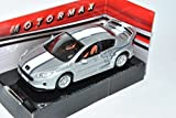 Motormax Peugeot 407 Coupe Silber Tuning 2004-2011 1/43 Modell Auto