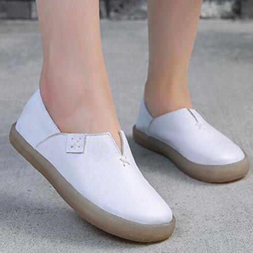 MatchLife, Ballerine donna Style1-Weiß