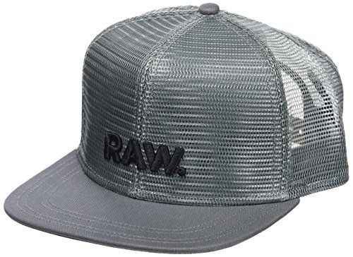 G-STAR RAW Herren Baseball Cap Cart Trucker Cap D08356-8920, Gr. One Size (Herstellergröße: PC), Grün (Smoke Green 2688)