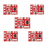 Ils - 5 Pieces 2.5-5.5V TTP223 Capacitive Touch Switch Button Self-Lock Module for Arduino