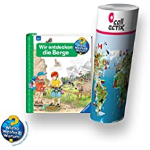 Ravensburger wieso? weshalb? Perché? Libro 4 – 7 anni | Noi scoprire le montagne + bambini mappa del mondo
