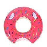 Schwimmbad schwimmt Swim Ringe topind Donut aufblasbare Schwimmen Ring Kinder Schwimmbad Kinder Sitz Boot Aufblasbarer Wasser Floß Pool Float PVC Outdoor Lounge Schwimmbad großes Spielzeug für Erwachsene und Kinder, rose