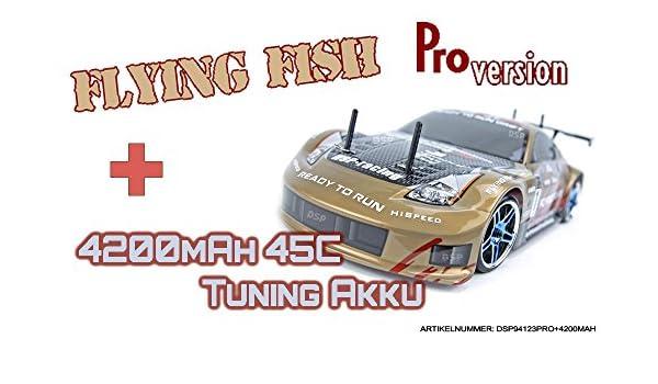 Fahrzeug Modell Maßstab 1:10 Modellbau HSP RC ferngesteuerter Drift Car Auto