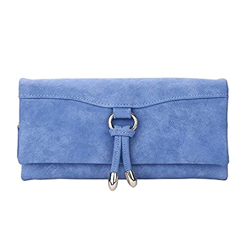 Dreambox polyvalent en cuir nubuck Femmes Sac à Main Sacs à main freins Téléphone portable Sac - bleu - taille unique