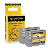 2x Batteria EN-EL3E per Nikon D50 | D70s | D80 | D90 | D200 | D300 | D300S | D700