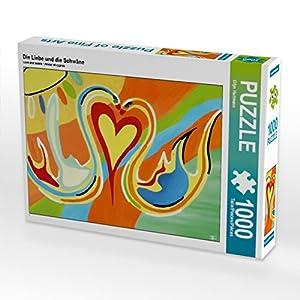 Hartmann Eilyn Calvendo - Puzzle (1000 Piezas, 64 x 48 cm), diseño de El Amor y Las Colas
