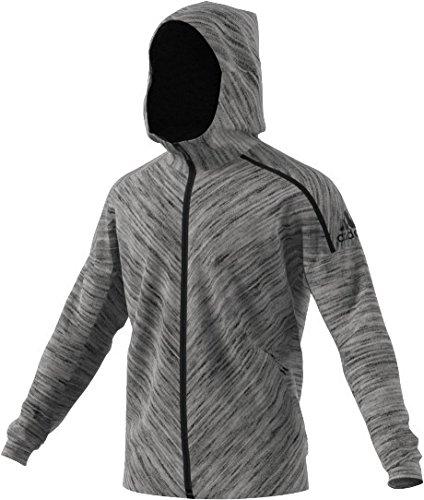 adidas Herren Zne Roadtr Hood Sweatshirt, Grau, XL Mehrfarbig (Stohtr)