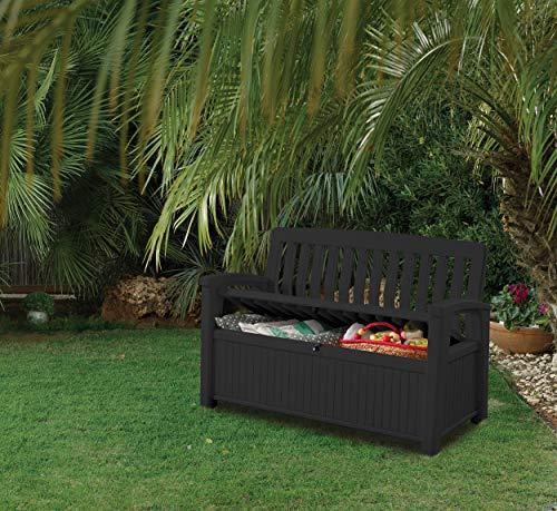 Koll Living Gartenbank/Aufbewahrungsbox/Auflagenbox - 5