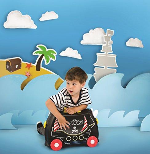 51PMcEVLlGL - TRUNKI PEDRO PIRATA - TRK0312 Maleta de viaje para niños aventureros