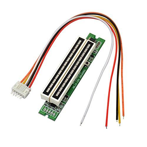 Shumo Dual 12 Pegel nzeige VU Meter Stereo Verst?Rker Platine Einstellbare Licht Geschwindigkeit Platine mit GC Mode DIY Kits