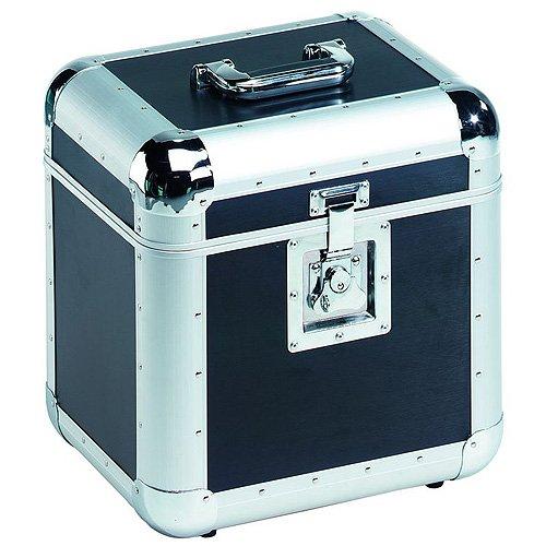 Roadinger 30110035 Aluminium 75/25 abgerundet Platten-Hülle schwarz