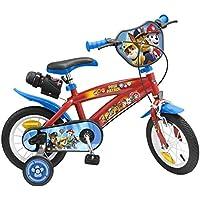 TOIMSA Paw Patrol Bicicleta para niños bajo Licencia la Pat' Patrulla 12Pulgada (de 3a 5años, 1272u