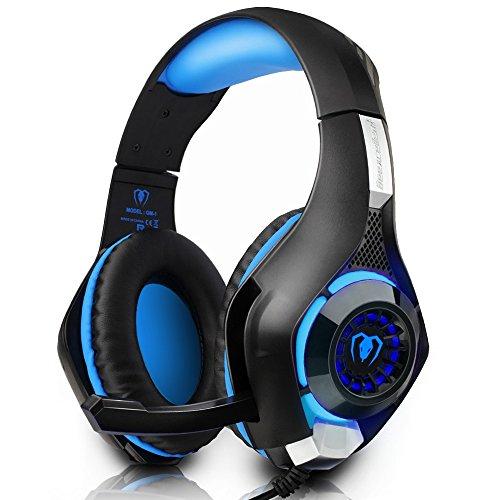 Auriculares Gaming iBeek Headband Sonido Envolvente Estéreo Sobre-Oí