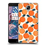 Head Case Designs Orange Obst Drucke Ruckseite Hülle für OnePlus 3 / 3T