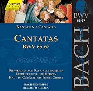 Edition Bachakademie Vol. 21 (Geistliche Kantaten BWV 65-67)