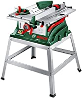Bosch PTS 10 T Table Saw & Metal Stand (0603B03401)
