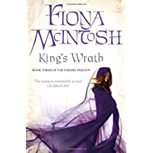 King's Wrath: Book Three of the Valisar Trilogy by Fiona McIntosh (2011-07-07)