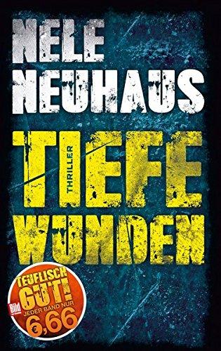 Buchcover Tiefe Wunden (BILD am Sonntag Mega-Thriller 2018)