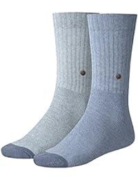 Levis 2 pares de calcetines de los hombres 120SF Regular Cut 2P Classic Rib Socks - selección de color